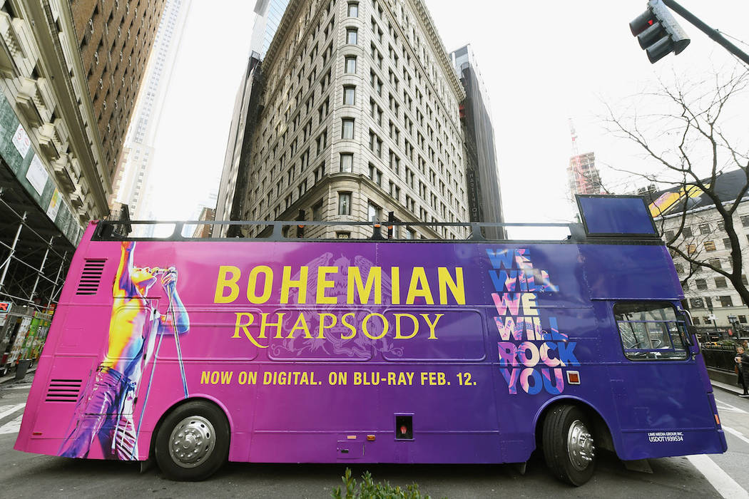 """Guests attend """"Bohemian Rhapsody"""" Rock Like Queen Tour launch event on January 25, 2019 in New York City. (Photo by Nicholas Hunt/Getty Images Twentieth Century Fox Home Entertainment)"""