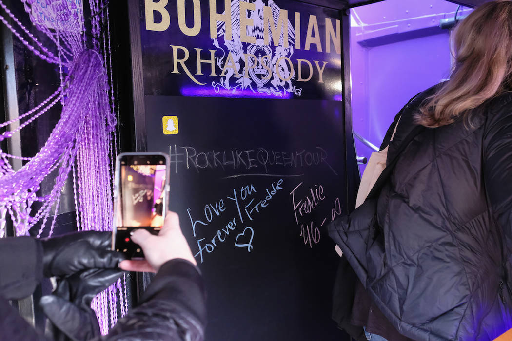 "Guests attend ""Bohemian Rhapsody"" Rock Like Queen Tour launch event on January 25, 2019 in New York City. (Photo by Nicholas Hunt/Getty Images Twentieth Century Fox Home Entertainment)"