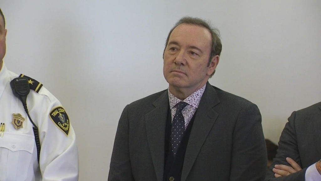 Lawyers For Kevin Spacey Enter Not Guilty Plea In Sex