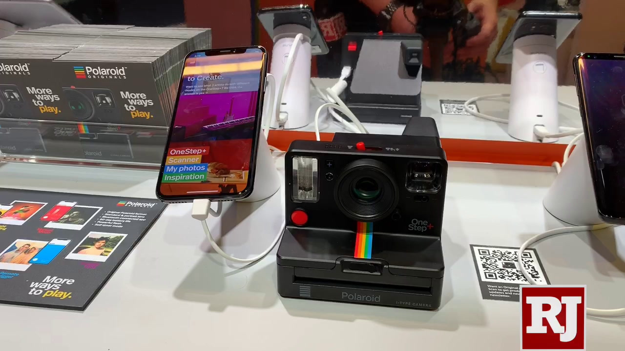 CES 2019: Polaroid shows off One Step Plus camera — VIDEO