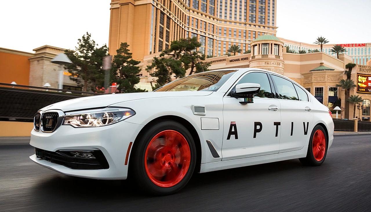 BMW Las Vegas >> Aptiv Lyft Use Latest Tech On Self Driving Fleet In Las Vegas Las