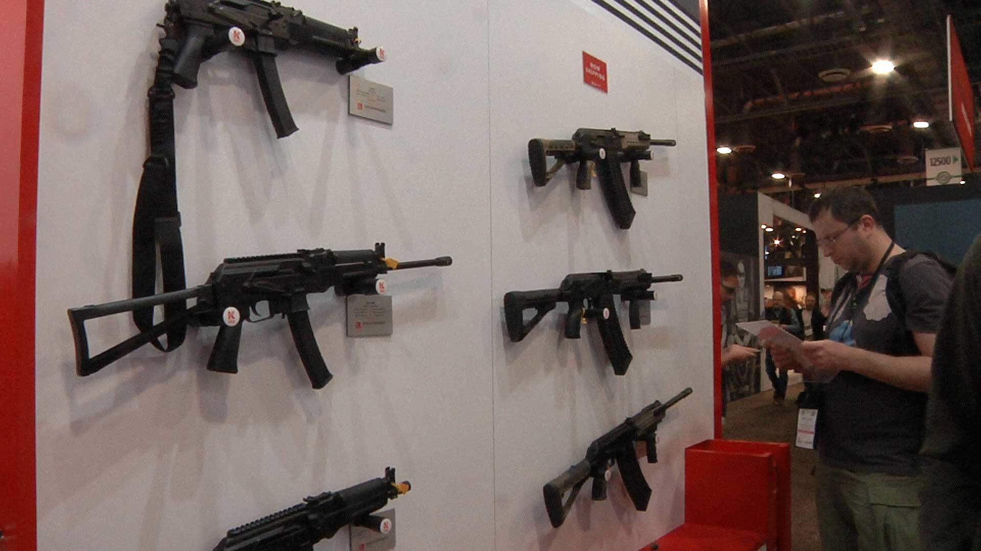 SHOT Show 2019: Kalashnikov USA may begin exporting products