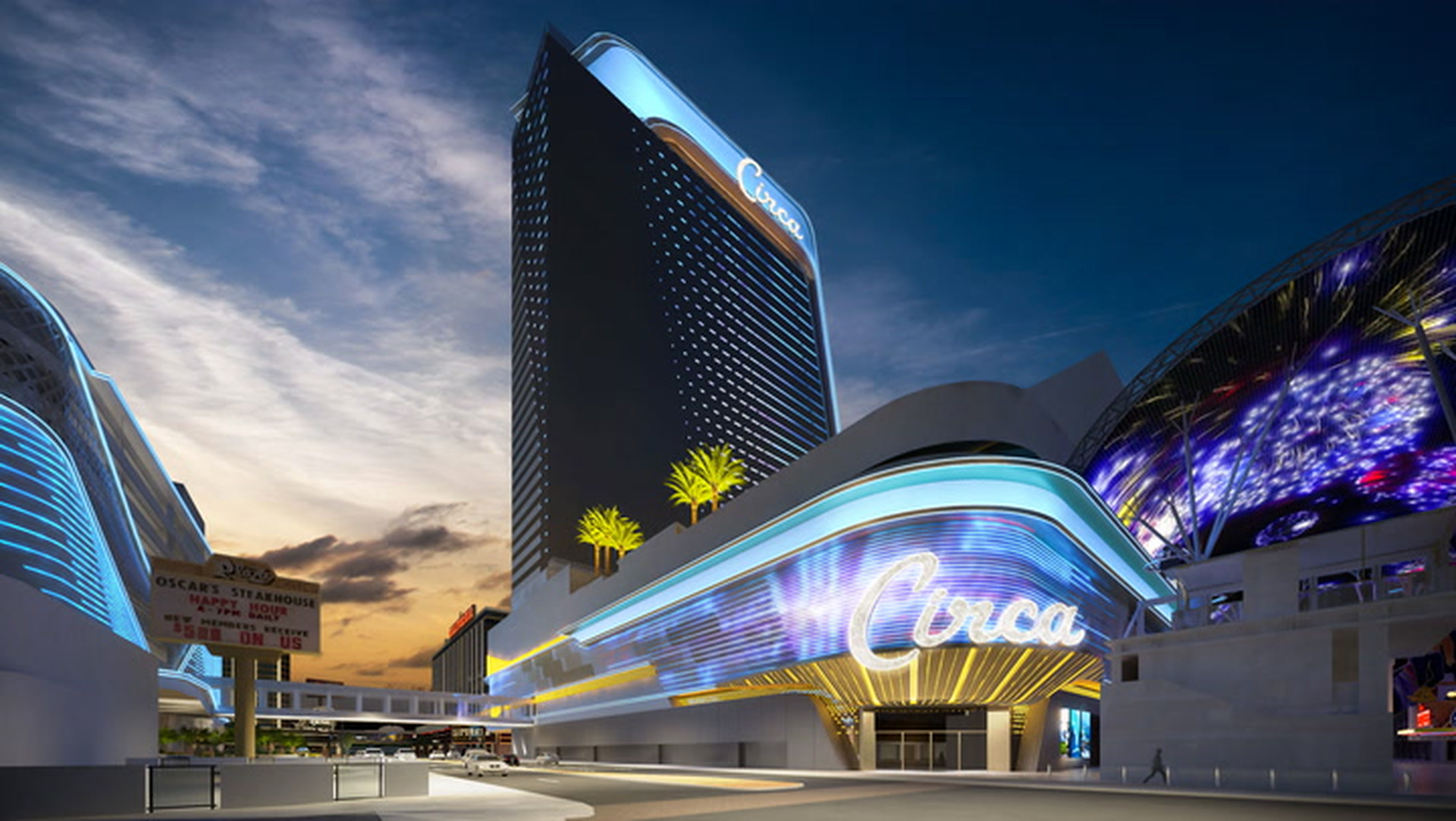 Circa Hotel Casino In Downtown Las Vegas Unveiled By Derek