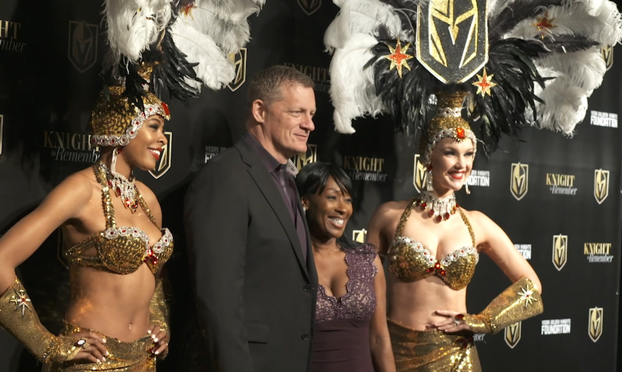 Golden Knights Host 'Knight To Remember' Fundraising Gala (video)