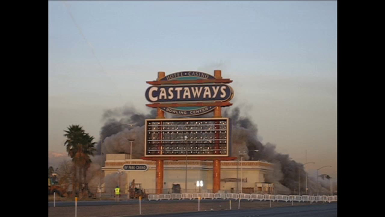 Castaways was imploded 13 years ago in Las Vegas — PHOTO ARCHIVE