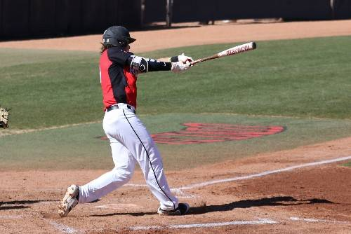 UNLV shortstop Bryson Stott, shown last February, is the first Rebel to be named to the preseason Golden Spikes Award watch list since pitcher Erick Fedde in 2014. (UNLV photo)