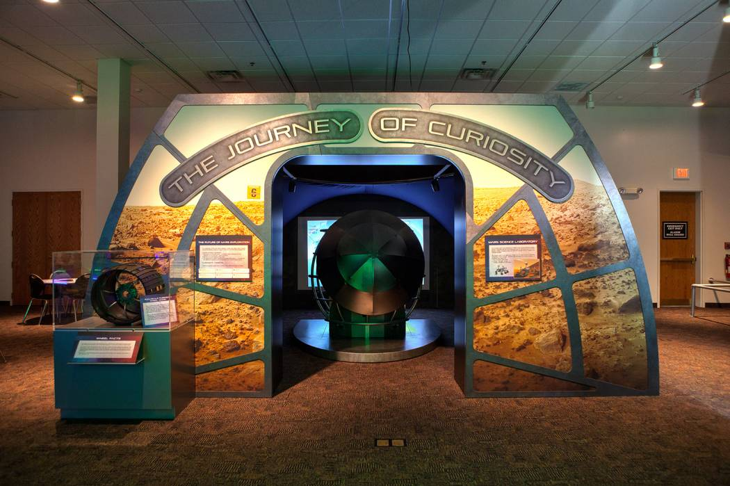 """Alien Worlds and Androids"" exhibit at Discovery Children's Museum (John Schlia Photography)"