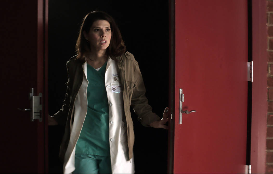 "Marisa Tomei stars in ""Laboratory Conditions."" (Dam Short Film Festival)"