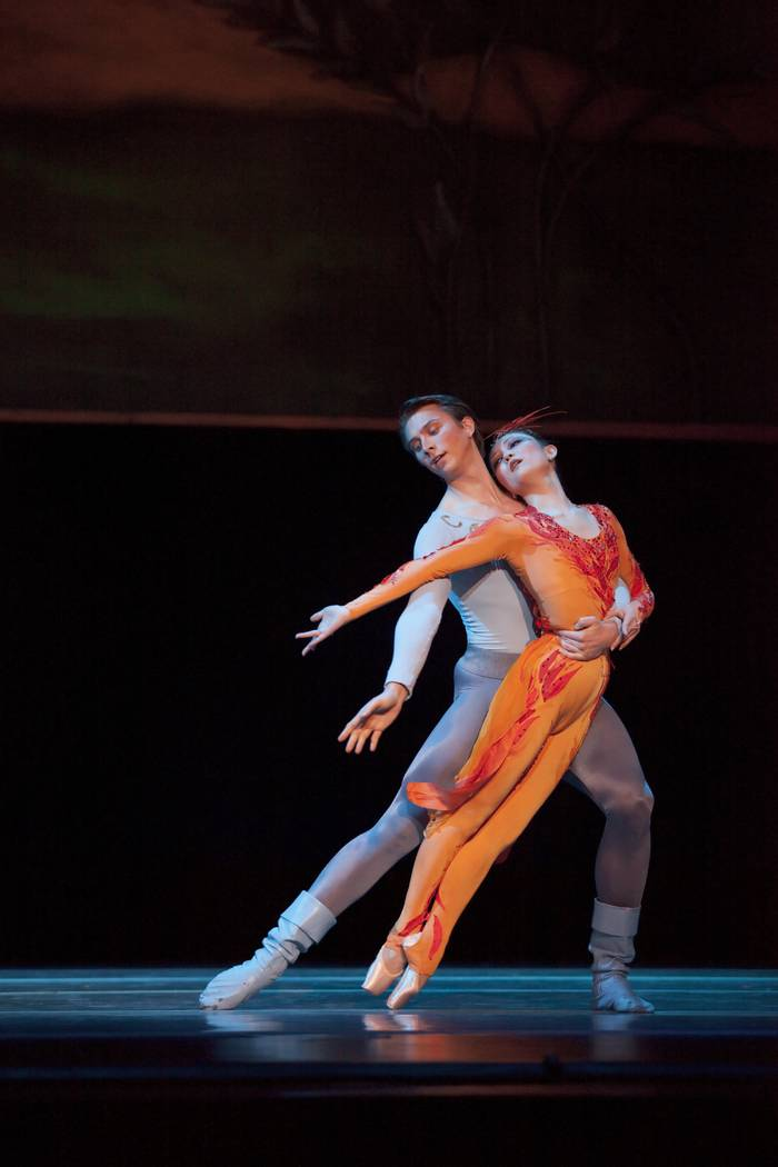 "Oregon Ballet Theatre, ""Firebird"" dress rehearsal (Nevada Ballet Theatre)"