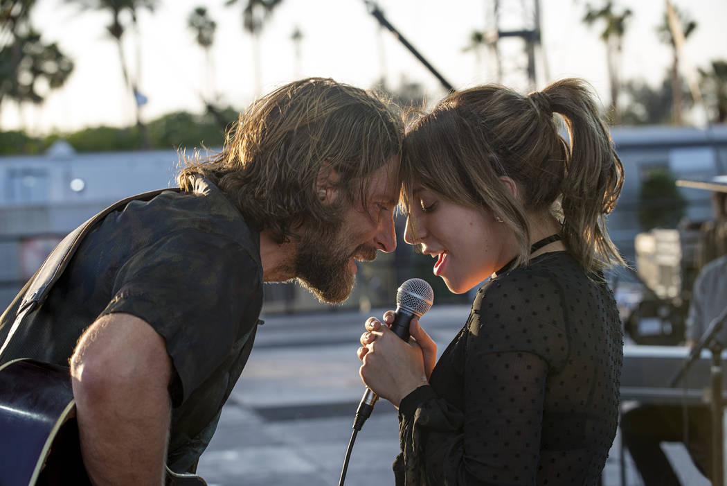 """Photo Credit: Neal Preston Caption: (L-R) BRADLEY COOPER as Jack and LADY GAGA as Ally in the drama """"A STAR IS BORN,"""" from Warner Bros. Pictures, in association with Live Nation Product ..."""