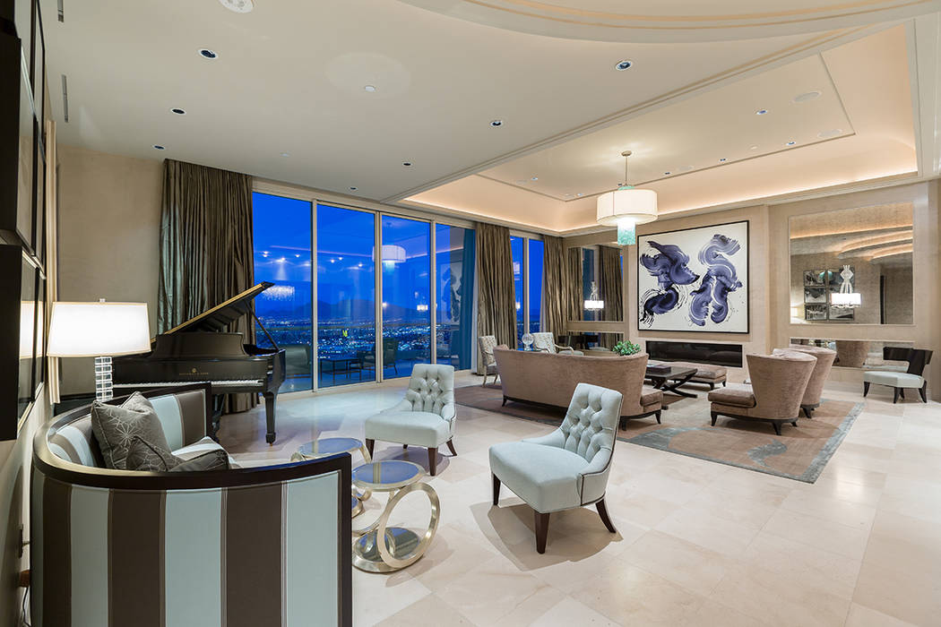 This Turnberry Place penthouse, which sold for $5.5 million, measures 8,205 square feet. (Ivan Sher Group)