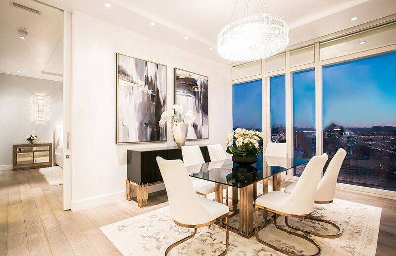 Unit 4502 in Waldorf Astoria sold for $3.6 million, putting it in the No. 6 spot for highest-priced high-rise condos sold in 2018. (Award)