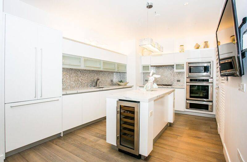 The kitchen in unit 4502. (Award)