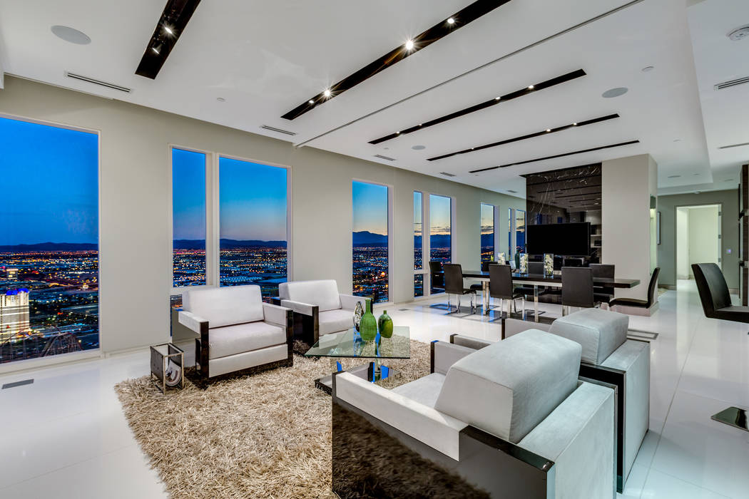 Waldorf Astoria dominated the top 10 highest-priced high-rise condos for 2018. This unit was sold for $3.6 million. (Luxury Estates International)