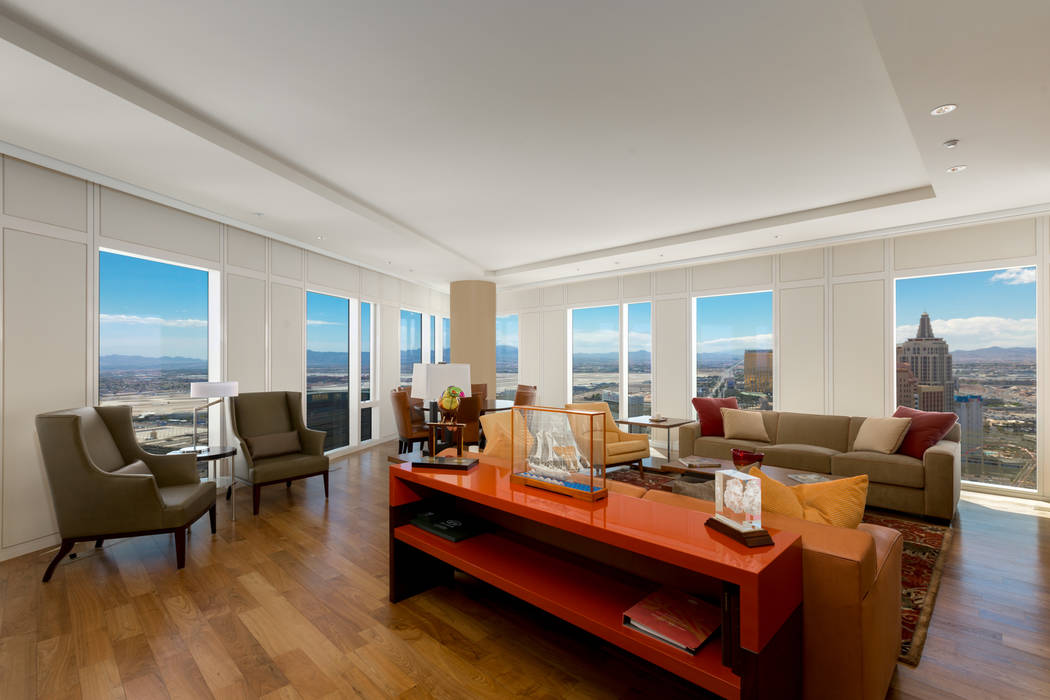 Unit 3604 in Waldorf Astoria sold for $3 million, putting it at No. 9 on the list of highest-priced high-rise condos sold in 2018.( Luxury Estates International)