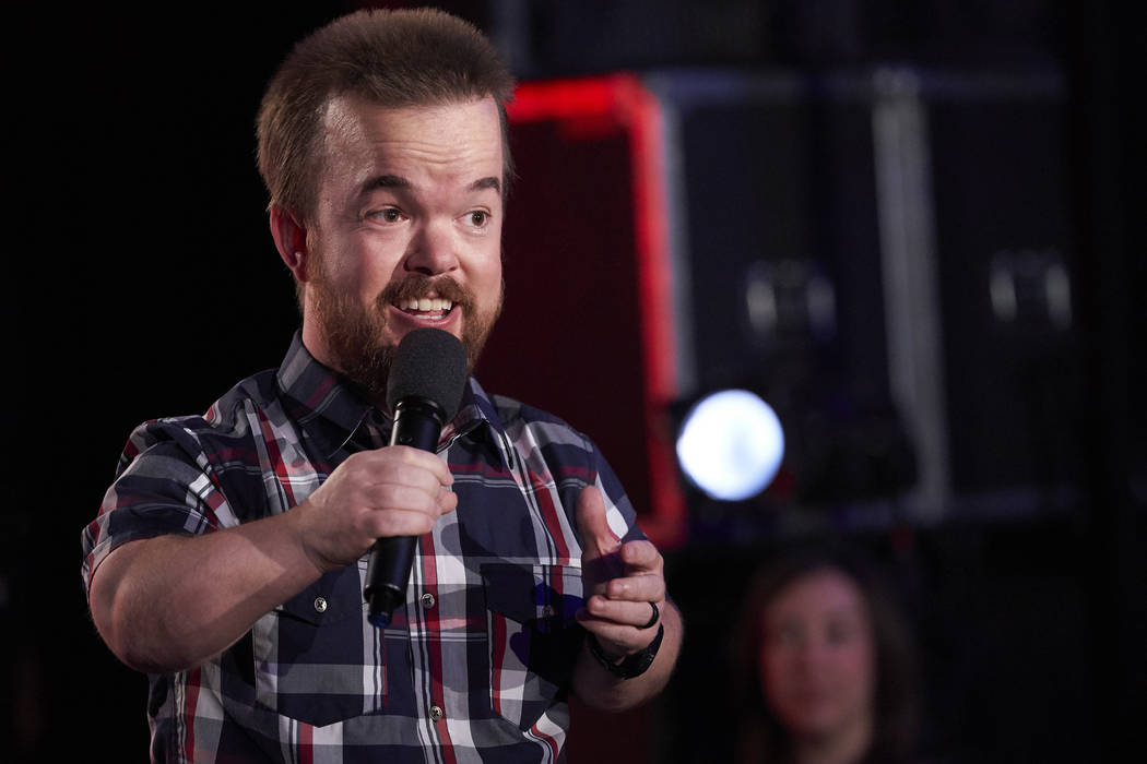 "Comedian Brad Williams in ""The Degenerates"" (Greg Gayne/Netflix)"