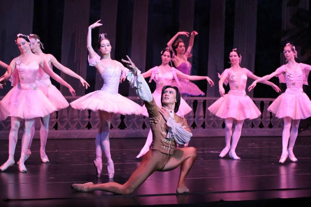 "Russian National Ballet's ""The Sleeping Beauty"" (Timur Kinzikeev)"