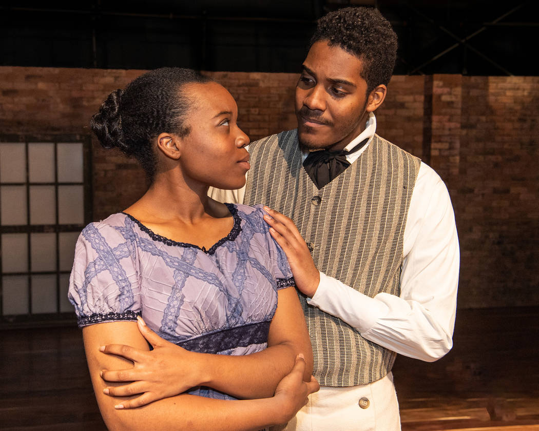 """""""The African Company presents Richard III"""" at UNLV (Richard Brusky/Nevada Conservatory Theatre)"""