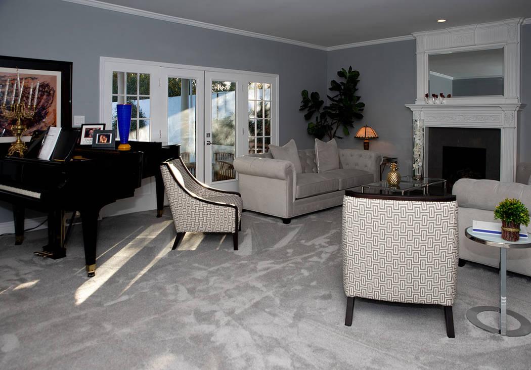 Myron Martin remodeled the 1971 Ranch Circle home. (Tonya Harvey/Real Estate Millions)