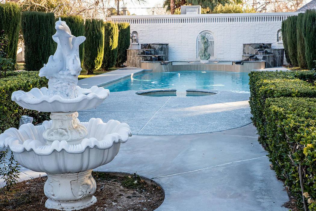The pool area. (Tonya Harvey/Real Estate Millions)