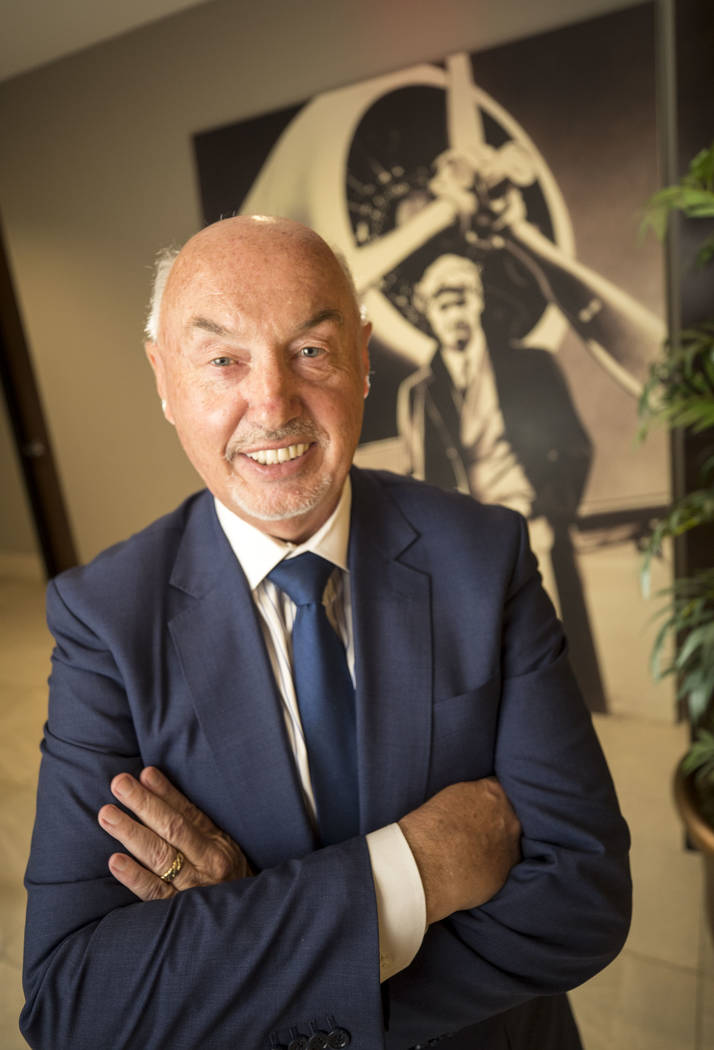 Summerlin President Kevin Orrock poses at The Howard Hughes Corp. headquarters in 2017. The master-planned community is creating an Aviation Row. (Richard Brian RJNewHomes.Vegas)