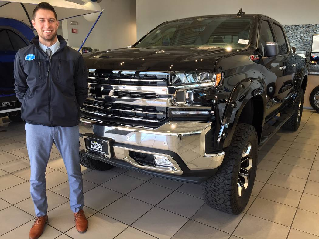 Findlay Chevrolet Sales Consultant David Rothrock Is Seen With The Popular 2019 Chevrolet Silverado 1500 Z71 Southern Comfort Model At The Dealership Situated At 6800 S Torrey Pines Drive Findlay Las Vegas Review Journal