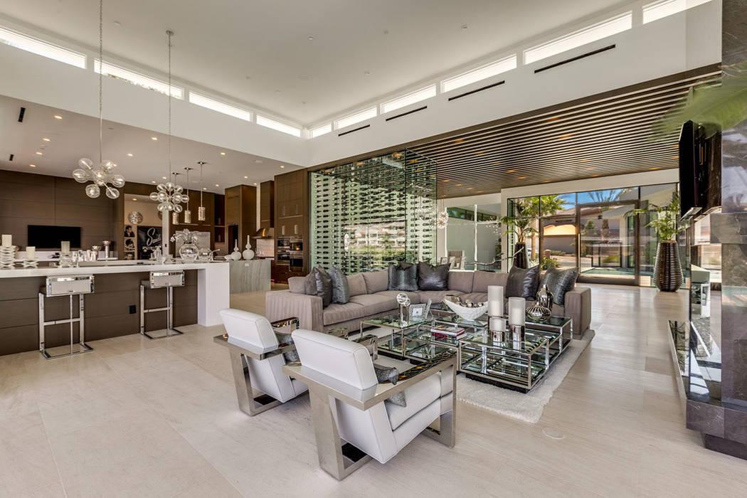 The design features an open floor plan. (Ivan Sher Group)