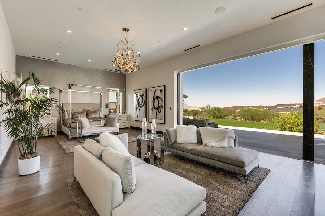 The master suite has an indoor-outdoor feature. (Ivan Sher Group)