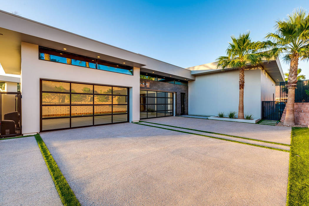 The home has garage space for four cars. (Ivan Sher Group)