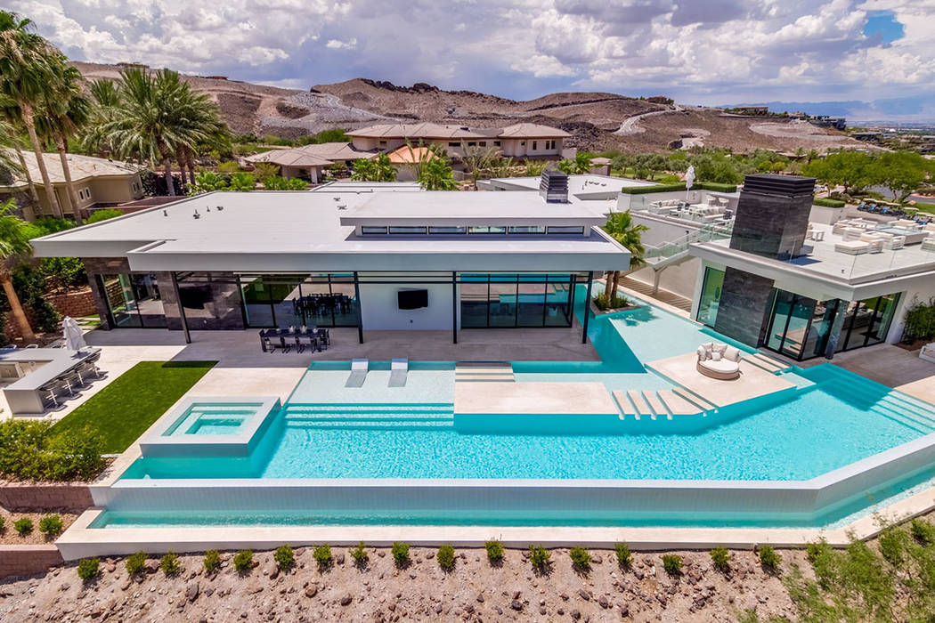 This custom home in MacDonald Highlands has listed for nearly $6 million. (Ivan Sher Group)