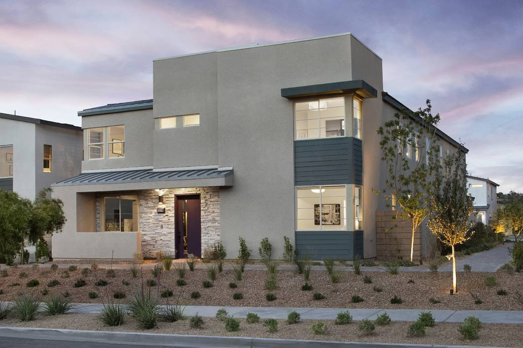 Pictured is the Plan Four model home at Pardee Homes' Strada. A new phase release is scheduled for Feb. 2 in the new Inspirada neighborhood. (Pardee Homes)