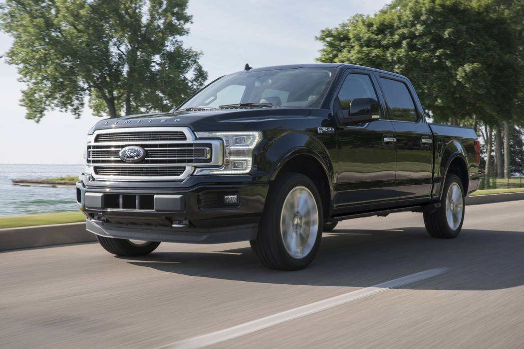 Thanks to the addition of a high-output 3.5-liter EcoBoost V-6 engine, the 2019 Ford F-150 Limited is the most powerful light-duty pickup in America. (Ford)