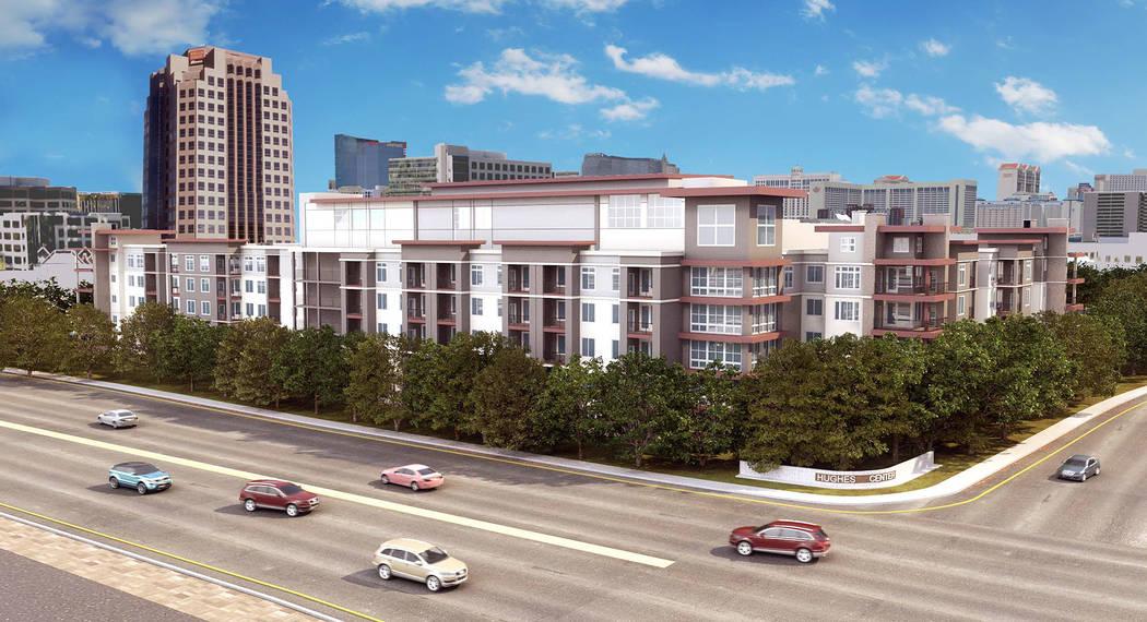 Las Vegas office park gets luxury apartment complex | Las ...