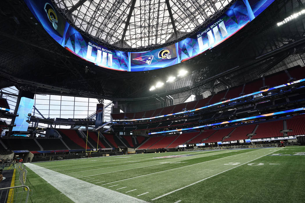 Mercedes-Benz Stadium a Super Bowl example for Las Vegas ...