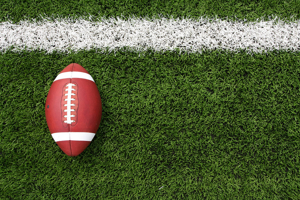 Thinkstock Youth football sign-ups are underway in the Pahrump area.