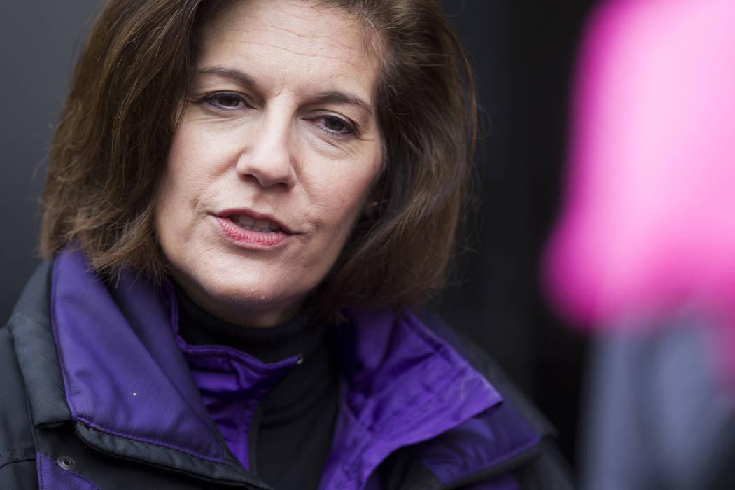 U.S. Sen. Catherine Cortez Masto. Erik Verduzco/Las Vegas Review-Journal Follow @Erik_Verduzco