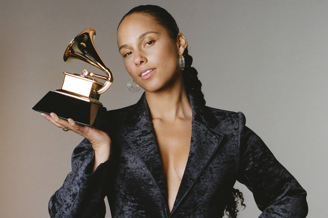 15-time GRAMMY Award® winner Alicia Keys will host THE 61ST ANNUAL GRAMMY AWARDS, marking her first year as master of ceremonies for Music's Biggest Night. (Jaclyn Martinez/Courtesy of AK Worldwi ...