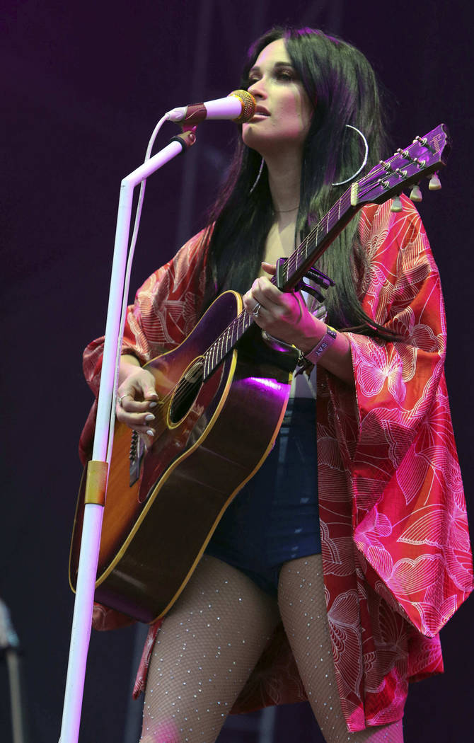 Kacey Musgraves performs during Music MidTown 2018 at Piedmont Park in Atlanta on Saturday, Sept. 15, 2018. (Katie Darby/Invision/AP, File)