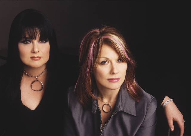 Ann and Nancy Wilson of Heart are touring again and stop at Pearl Theater at the Palms on Sept. 8. (Courtesy)