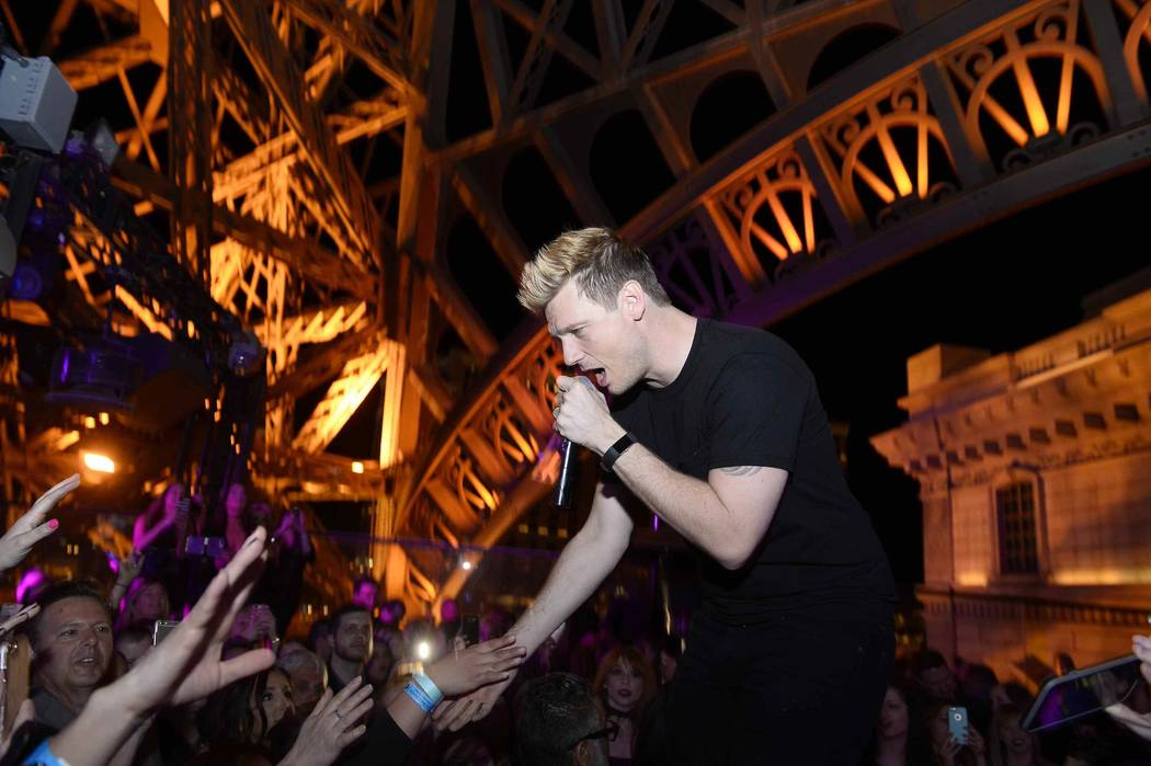 Nick Carter and the rest of the Backstreet Boys will perform this weekend at Zappos Theater at Planet Hollywood in Las Vegas.