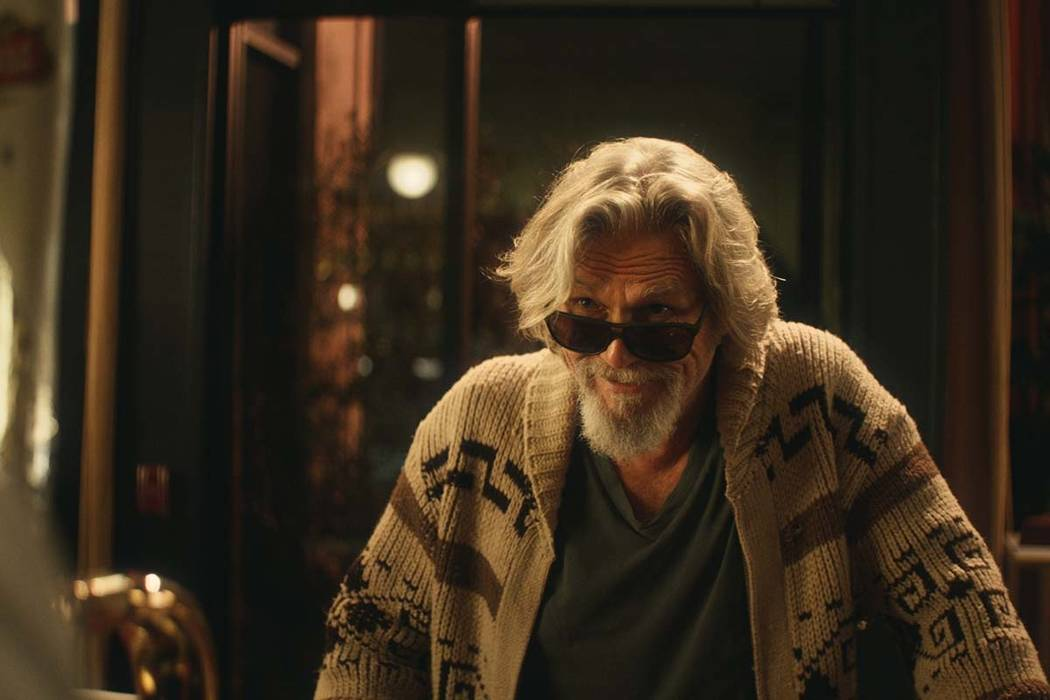 "This undated image provided by Stella Artois shows a scene from the company's Super Bowl spot with Jeff Bridges, who revived his ""The Dude"" character from ""The Big Lebowski"" in a pitch for ..."