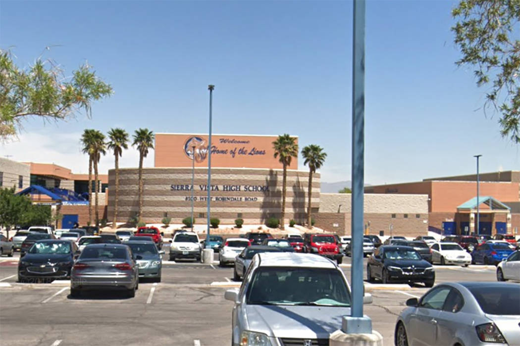Sierra Vista High School (Google)