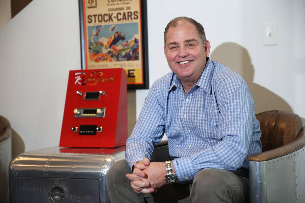 Steve Harrington, owner of Retro Manufacturing, at his company's Henderson headquarters, Tuesday, Feb. 5, 2019. (Erik Verduzco/Las Vegas Review-Journal) @Erik_Verduzco