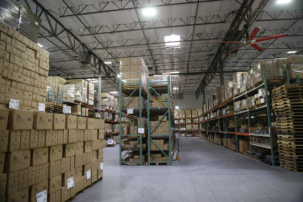 The Retro Manufacturing headquarters in Henderson, Tuesday, Feb. 5, 2019. (Erik Verduzco/Las Vegas Review-Journal) @Erik_Verduzco