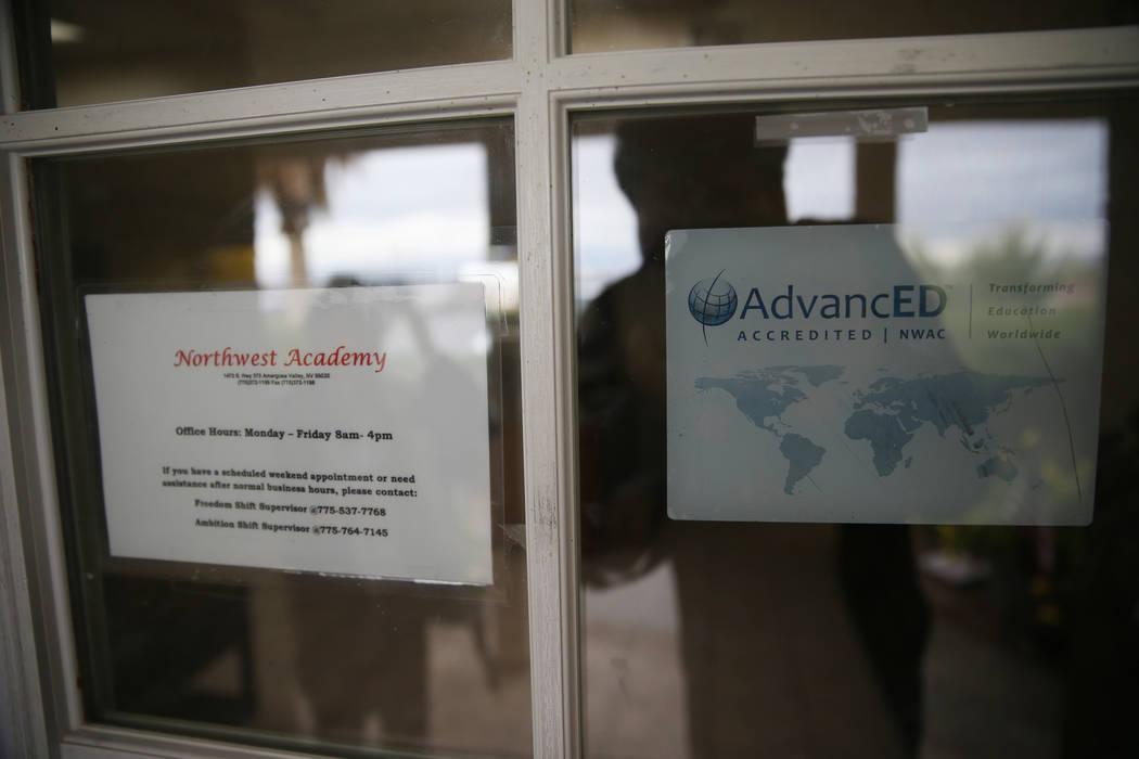 Northwest Academy in Amargosa Valley, Saturday, Feb. 2, 2019. (Erik Verduzco/Las Vegas Review-Journal) @Erik_Verduzco