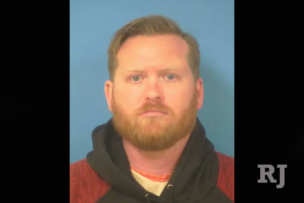 Caleb Hill, 29, of Pahrump (Nye County Sheriff's Office)