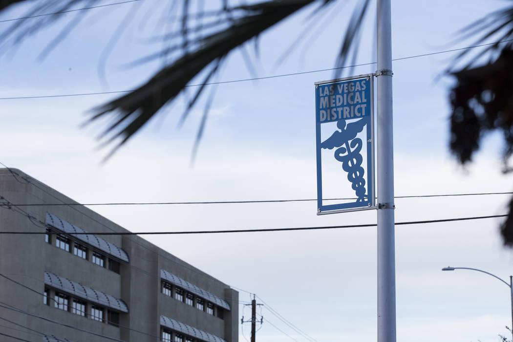 The Las Vegas Medical District near Shadow Lane and Charleston Boulevard on Tuesday, Jan. 24, 2017, in Las Vegas. Erik Verduzco/Las Vegas Review-Journal Follow @Erik_Verduzco