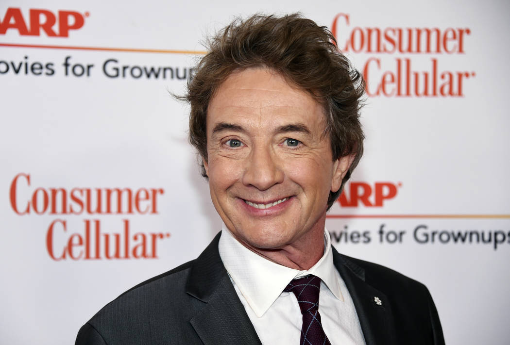 CORRECTS MONTH TO FEBRUARY INSTEAD OF JANUARY - Host Martin Short attends the 18th Annual Movies For Grownups Awards at Beverly Wilshire Hotel on Monday, Feb. 4, 2019, in Beverly Hills, Calif. (Ph ...