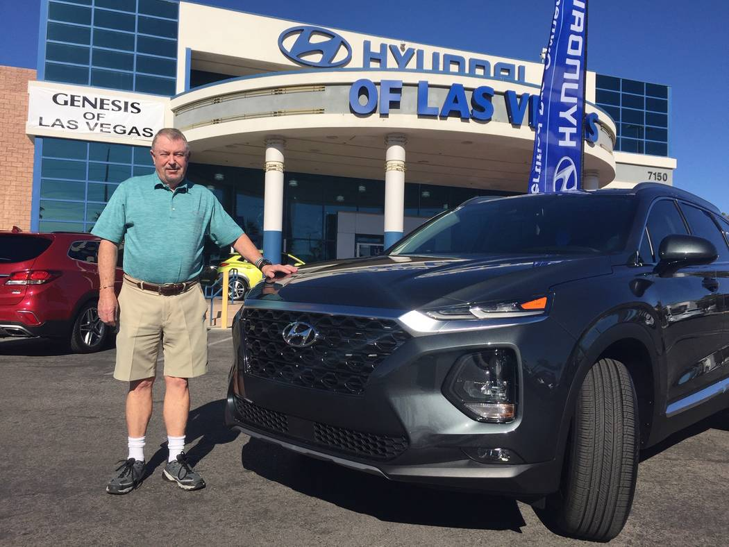 Retired Santa Barbara Police Department captain Jeree Johnson and his wife, Margaret, have continued a long relationship with Hyundai vehicles. He is seen with the couple's latest purchase, a 20 ...