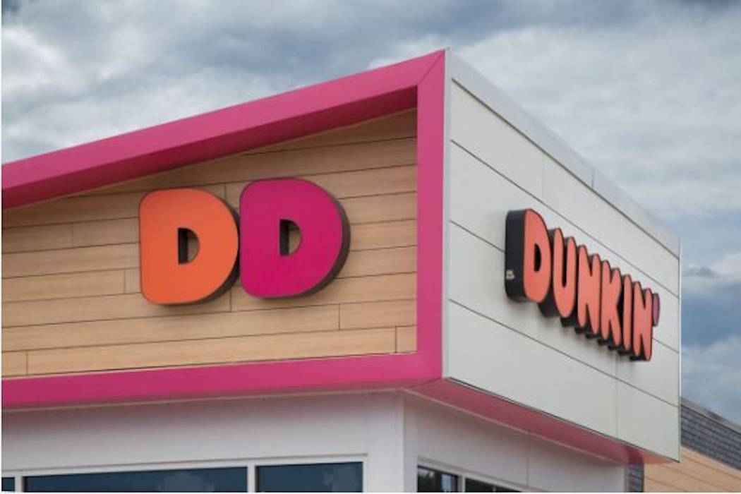 An exterior of a Dunkin' Donuts restaurant is shown. (Dunkin' Donuts)